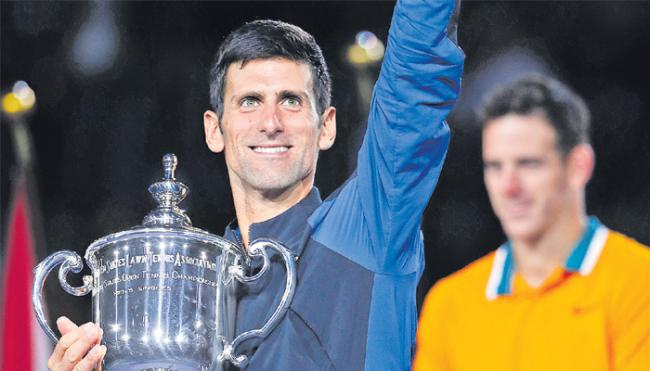 Djokovic up to No. 3, Osaka at No. 7 after US Open titles - Sakshi