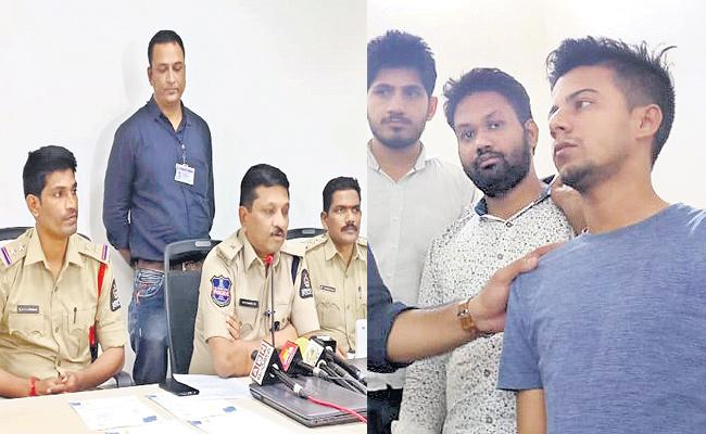 Cyber Criminals In hyderabad - Sakshi