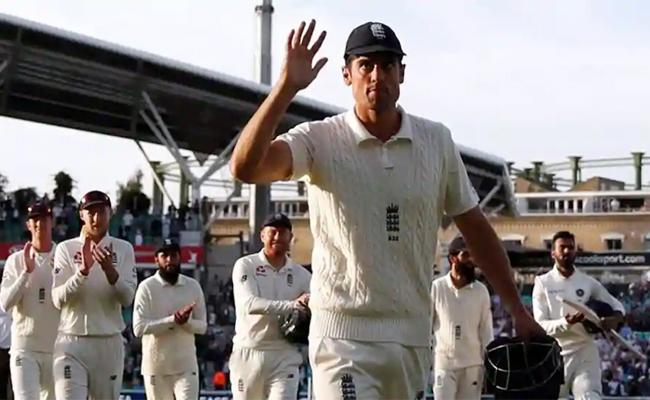 33 bottles of beer for Alastair Cook as farewell gift from media - Sakshi