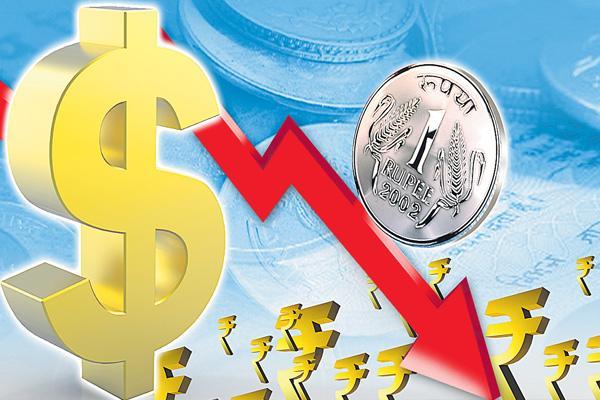 RBI intervenes as rupee breaches 72.5 to dollar - Sakshi