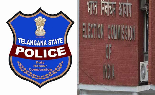 Police Department Meet With EC Regarding 2018 Telangana Elections - Sakshi