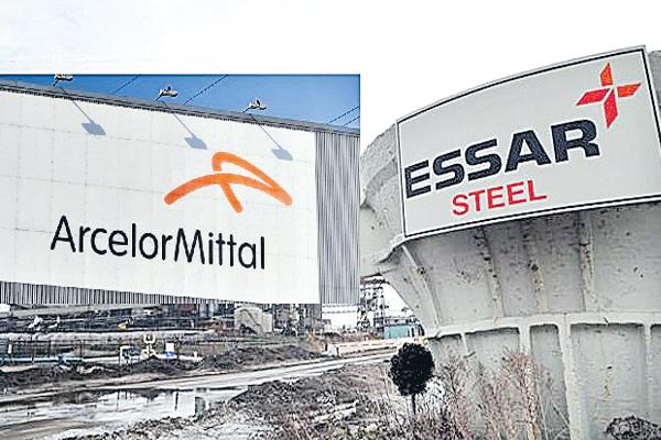 ArcelorMittal raises bid for Essar Steel to ₹42000 crore - Sakshi