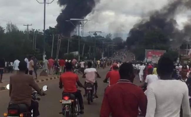 35 people were killed in gas tanker explosion - Sakshi