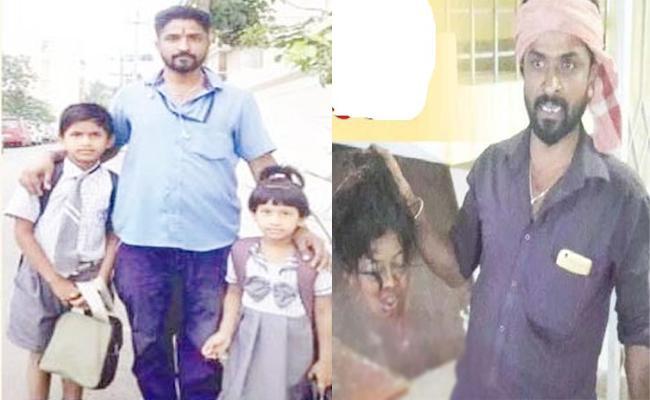 husband Kileed Wife In Karnataka - Sakshi