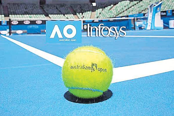 Infosys announces strategic tie-up with Australian Open - Sakshi