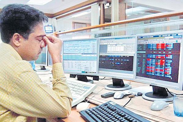 Sensex Plunges Over 400 Points, Nifty Below 11500 - Sakshi