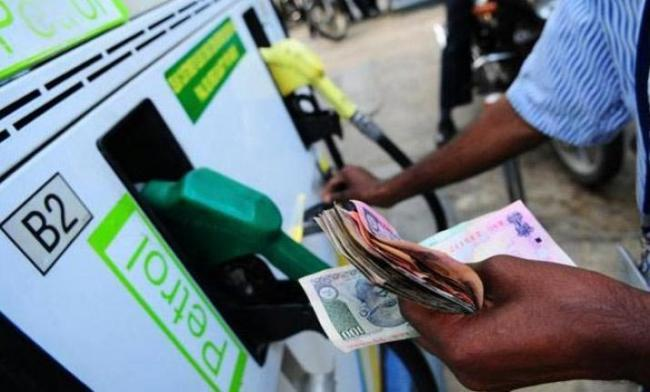 Petrol, diesel prices continue to breach record levels on Monday - Sakshi