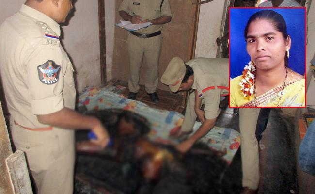 Husband Killed Wife In West Godavari - Sakshi