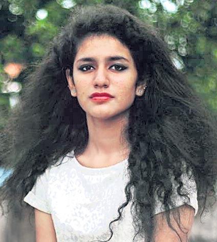 Priya Prakash Varrier Disappointed That Trolls Are Connecting Her With Nazriya Nazim's Comeback! - Sakshi