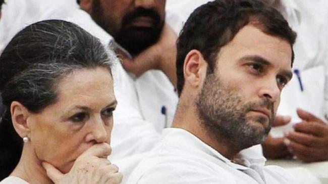 Delhi HC Dismisses Pleas of Sonia, Rahul Gandhi Against Reopening of Tax Assessment - Sakshi