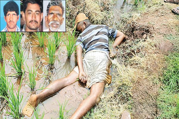 Four farmers were dead at the same day in the state - Sakshi