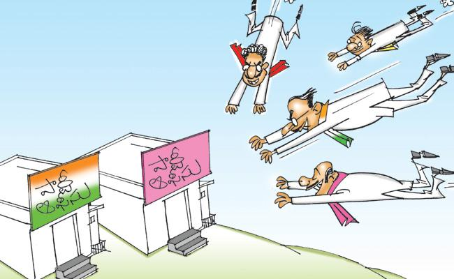 Rebel Candidates Are Increasing In TRS And Congress Party - Sakshi