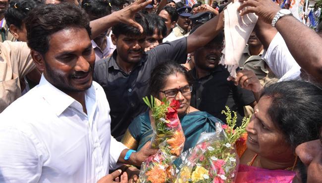 Ys Jagan 260th Day PrajaSankalpaYatra Begins - Sakshi