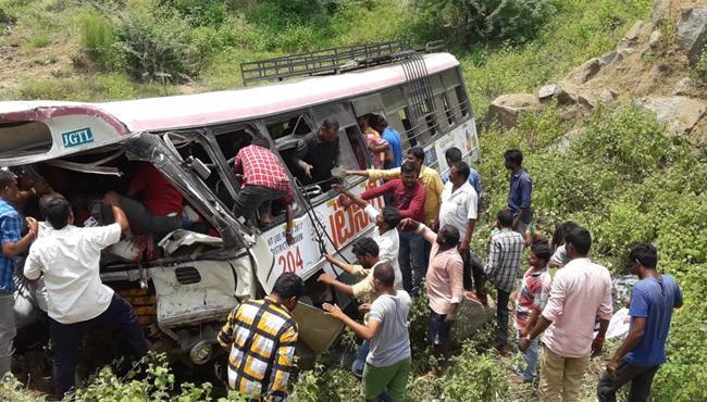 Bus Accident Death List - Sakshi