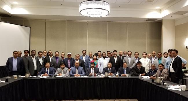 ATA Board meeting held in Detroit - Sakshi