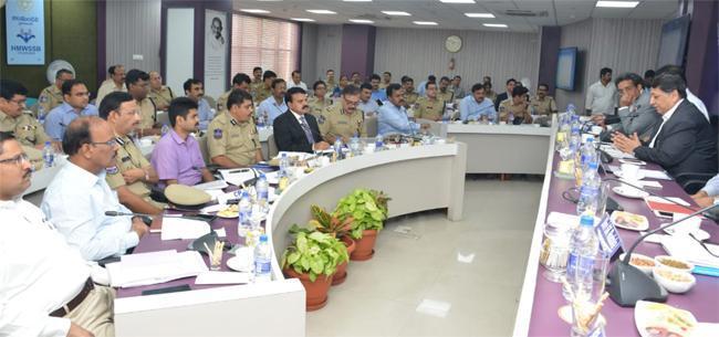 Central Election Commission Meeting Over In Jalamandali - Sakshi