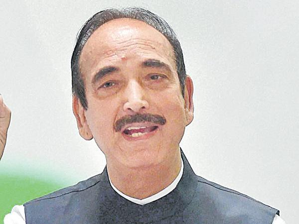 Ghulam Nabi Azad state visit was postponed - Sakshi