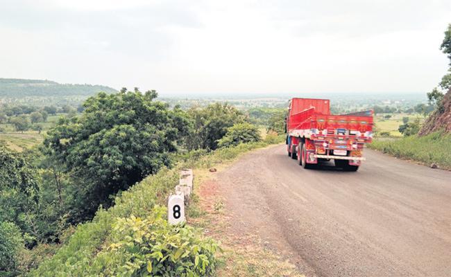 Ghat Roads Problems In Rangareddy - Sakshi
