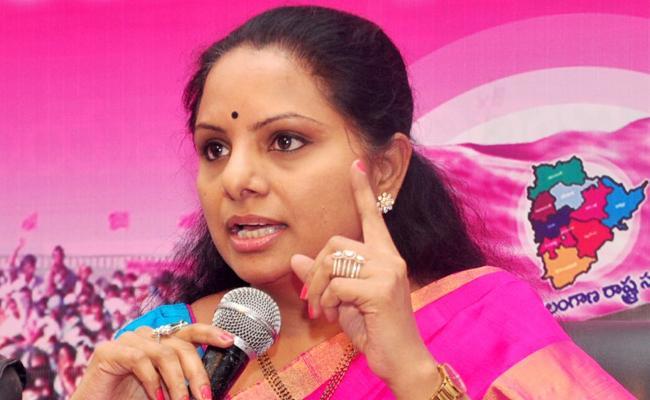 MP Kavitha Says TDP Plan To Alliance With Congress In AP - Sakshi