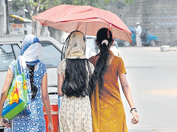 Increased temperatures in the state - Sakshi