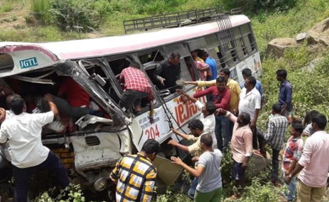 Sakshi Editorial On RTC Bus Accident At Kondagattu In Jagtial District
