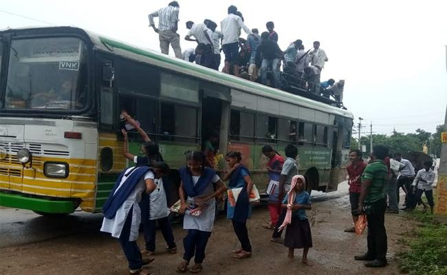 Howmuch Safety Our RTC Busses In Guntur - Sakshi