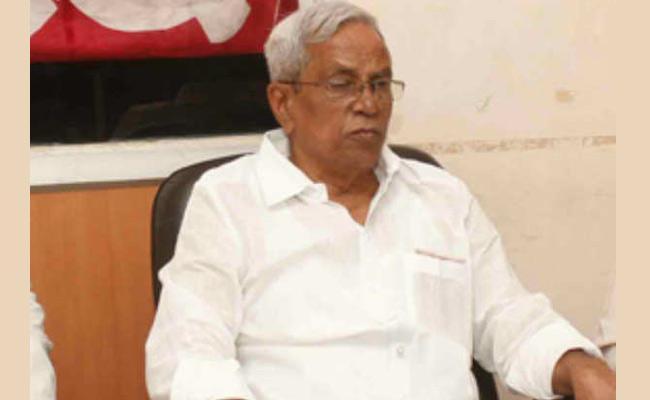 CPM Madhu Slams Chandrababu In Vijayawada - Sakshi