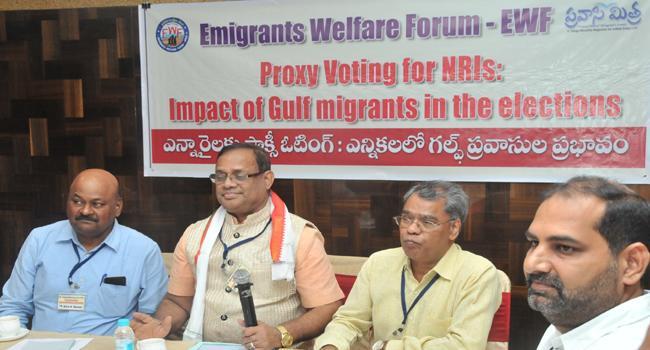 Congress party supports NRI proxy voting Bill says kunthiya - Sakshi