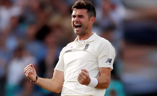 Anderson Becomes Highest Test Wicket Taking Seamer - Sakshi