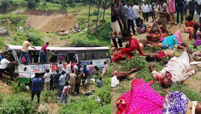 Kondagattu Bus Accident Death Toll Rises To 60 - Sakshi