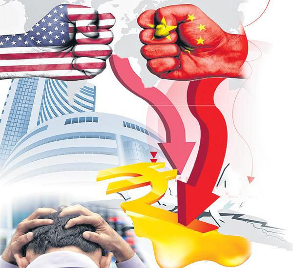 Sensex sinks 509 points, Nifty settles at 11287 - Sakshi