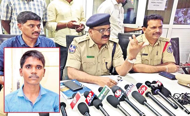 Mechanic Arrest in Robbery Case - Sakshi