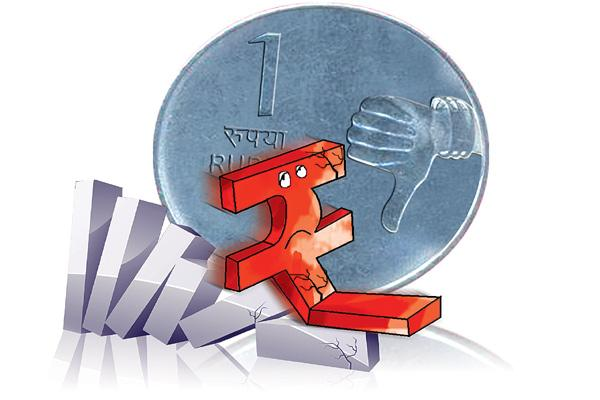 Rupee Edges Higher Against Dollar, But Still Below 72 Mark - Sakshi