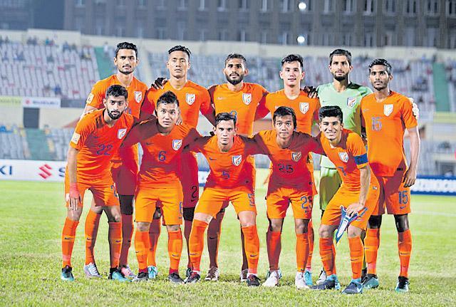 Manvir Singh brace takes Indian football team to SAFF Cup final - Sakshi