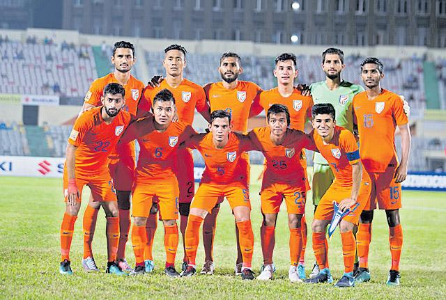 Manvir Singh brace takes Indian football team to SAFF Cup final - Sakshi
