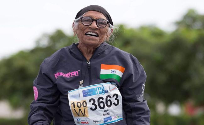 Man Kaur Won 200m Gold Medal At World Master Athletics Championship - Sakshi