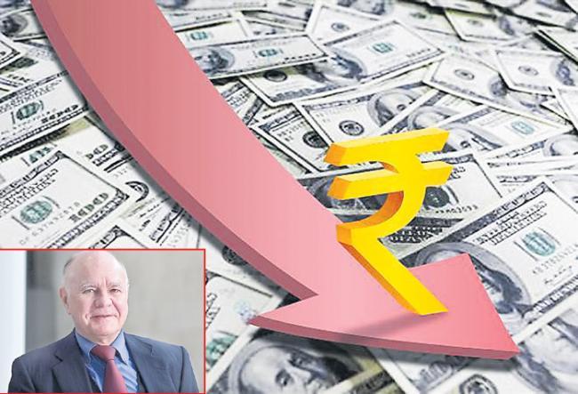 Rupee rebounds from lifetime low on govt pep talk - Sakshi