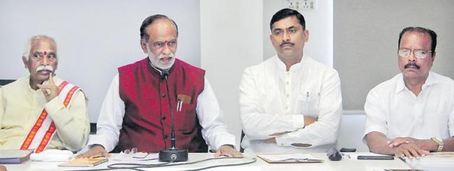 'BJP manifesto will focus on TS for next 20 years' - Sakshi