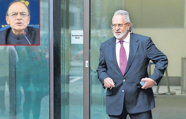 Vijay Mallya Says He Met Finance Minister Before Leaving India - Sakshi
