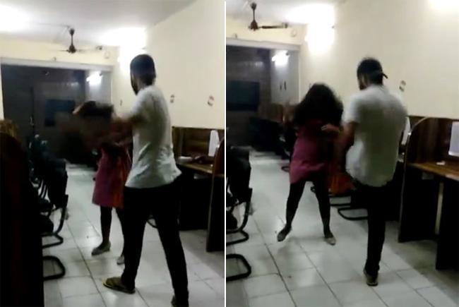 Delhi Police Officer Son Beats Girl In Tilak Nagar - Sakshi