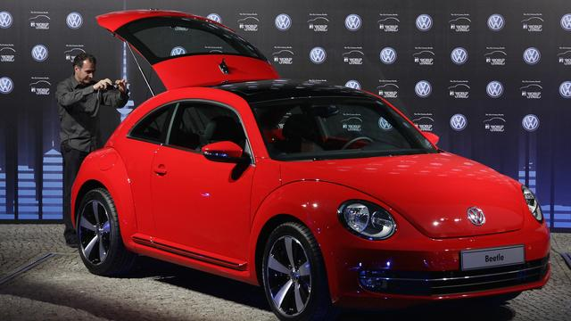 Volkswagen To End Production Of The Beetle Next Year - Sakshi