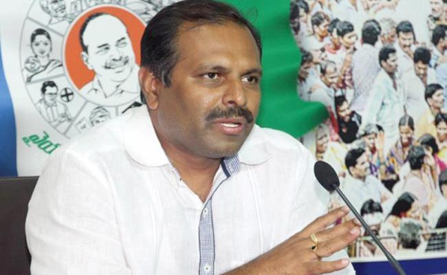 Gadikota Srikanth Reddy Comments On Chandrababu Arrest Warrant - Sakshi
