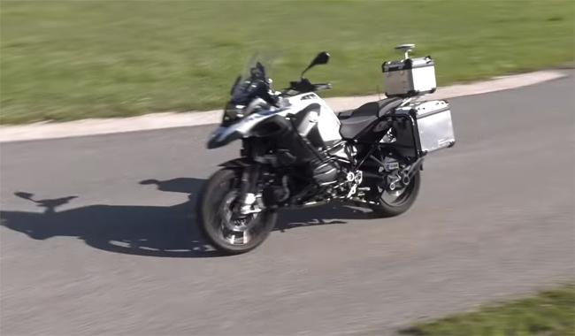 Self-Driving Motorcycle - Sakshi