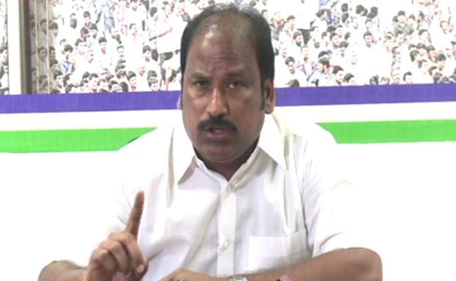 YSRCP Leader Sudhakar Babu Slams Hero Sivaji - Sakshi