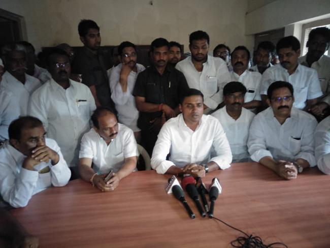 Mithun Reddy Fires on CM Chandrababu - Sakshi