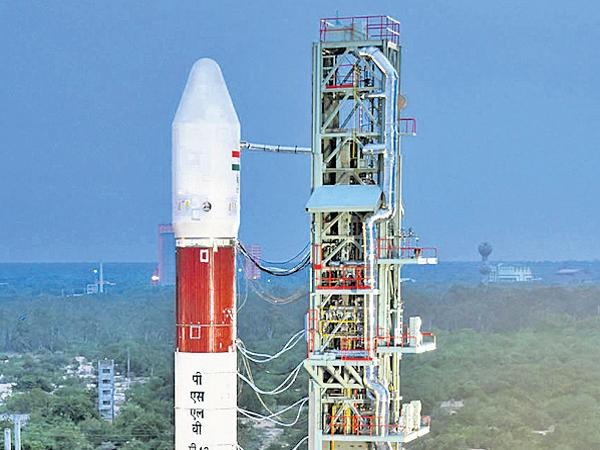 PSLV-C42 launch is today at 10.08 PM - Sakshi