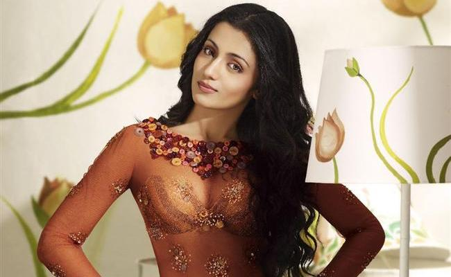 Trisha To Play As Mother To 4 Year Old Baby - Sakshi