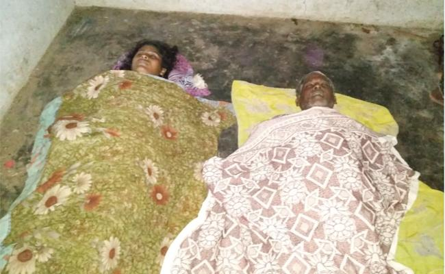 Woman And Man Died In Electrick Shock Krishna - Sakshi