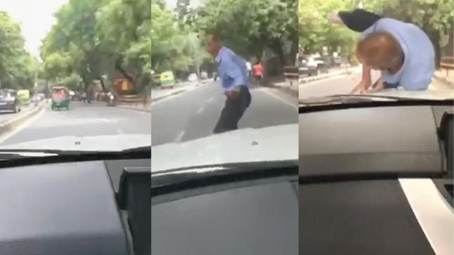 Delhi Teen Hit A Old Man With His BMW Car - Sakshi