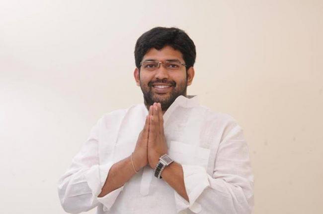 Jakkampudi Raja fast unto death on October 2 - Sakshi